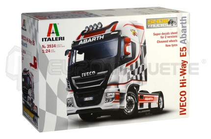 Italeri - Iveco Hi-Way E5 Abarth