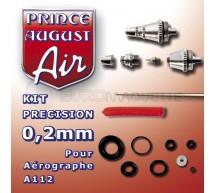 Prince August - Buse 0,2 & accessoires pour HD