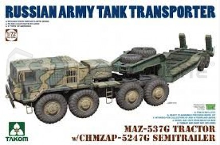 Takom - MAZ-537G & Tank trailer
