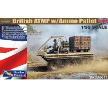 Gecko models - British ATMP & AMMO pallet