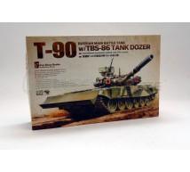 Meng - T-90 & tank dozer
