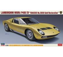 Hasegawa - Lamborghini Miura P400 SV Gold restoration