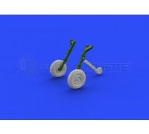 Eduard - Spitfire IXc roues 4 spoke & pattern (Eduard)