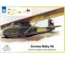 Fly - Planeur Grunau Baby IIb Tcheque
