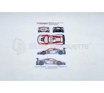Racing decals 43 - Mc Laren MP4-12C MRS Spa 2014