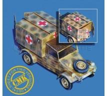 Cmk - Moteur de Steyer 1500 (tamiya)