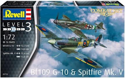 Revell - Combo Bf-109 G-10 & Spitfire Mk V