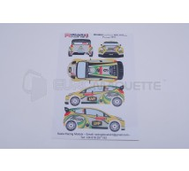 Racing decals 43 - Ford Fiesta 9 Portugal 2012