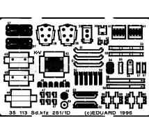 Eduard - SdKfz 251/1 ausf D (tamiya)