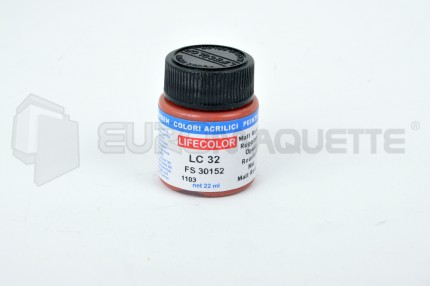Life Color - Rouille (1) LC32 (pot 22ml)