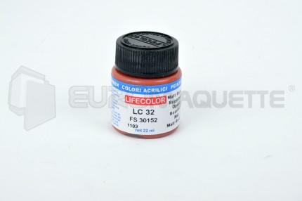 Life Color - Rouille (1) LC32 (pot 22ml)