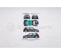Racing decals 43 - Skoda Fabia S2000 Portugal 2012