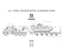 Takom - M1070 & trailer & M1A2 SEP