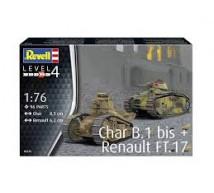 Revell - B1 Bis & FT-17