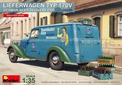 Miniart - Mercedes 170 Beer Delivery