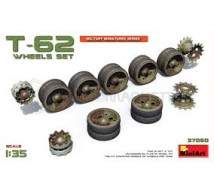 Miniart - T-62 wheels set