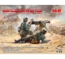 Icm - WWII MG 08 MG Team