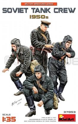 Miniart - Soviet tank crew 1950
