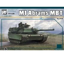 Panda model - M1 Abrams
