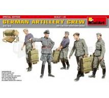 Miniart - Equipage Artillerie Allemand