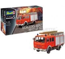 Revell - Mercedes 1017 LF 16 Pompier