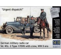 Master Box - SdKfz 2 & German horseman