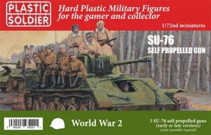 Plastic soldiers - SU-76 SPG