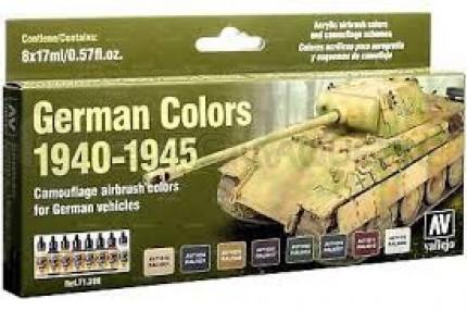 Vallejo - Coffret German tank colors WWII (x8)