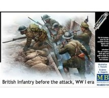 Master box - British infantry before attack WWI