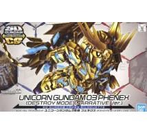 Bandai - SD Unicorn Gundam 03 Phoenix CS (5055578)