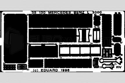 Eduard - Mercedes L-3000 (italeri)