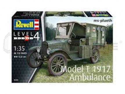 Revell - Model T Ambulance 1917