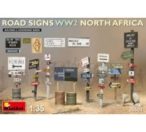 Miniart - WW2 north Afica road signs