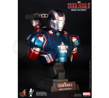 Hot toys - Iron Patriot bust 1/4