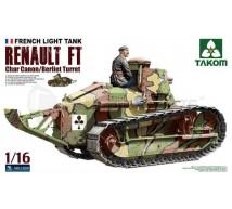 Takom - Char FT-17 Berliet turret