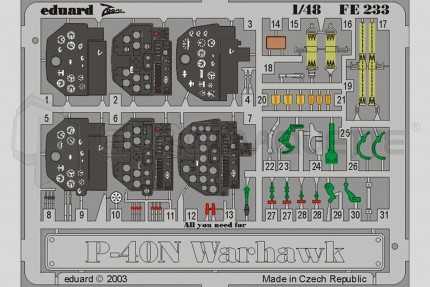 Eduard - P-40N Warhawk  (eduard)