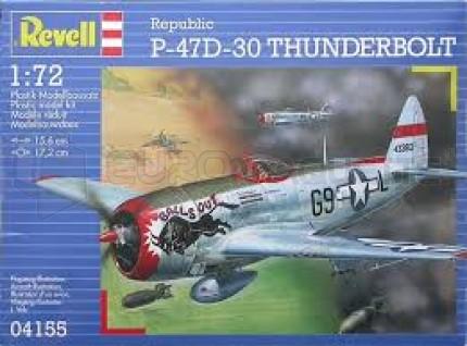 Revell - P-47D-30 Thunderbolt