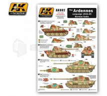 Ak interactive - Panther & Tigre II Ardennes 1944/45