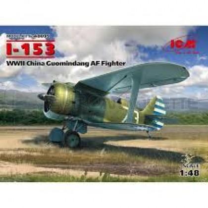 Icm - I-153 Chinese AF