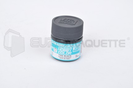 Gunze Sangyo - Noir de Pneu H77 (pot 10ml)
