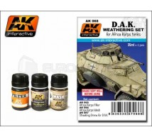 Ak interactive - Weathering set DAK