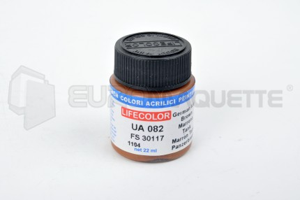 Life Color - Marron tank Allemand UA082 (pot 22ml)