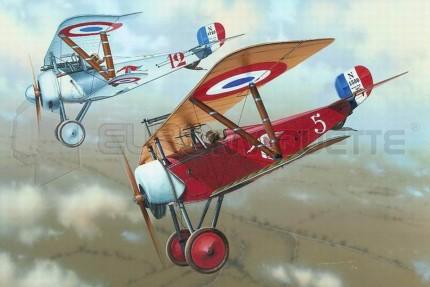 Eduard - Nieuports 11 & 17