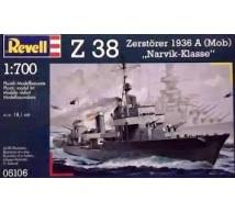 Revell - Z 38 Zerstorer 1936