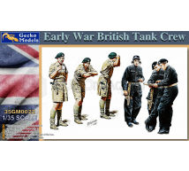 Gecko models - Early War British tank crew