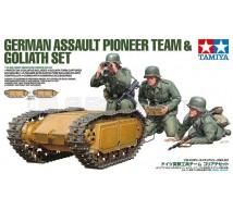 Tamiya - German Pioneer team & Goliath