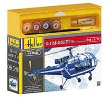 Heller - Coffret Alouette III Gendarmerie