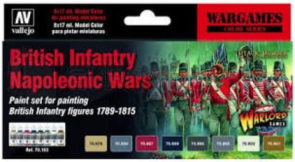 Vallejo - Coffret British Napoleonic war games (x8)