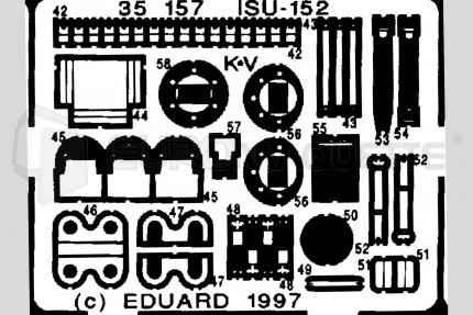 Eduard - ISU-152  (italeri/zvezda)