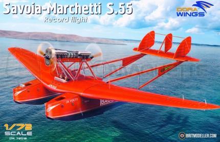 Dora wings - Savoia Marchetti S 55 Record flight